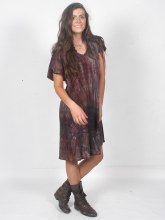 Tie Dyed Tee Shirt Dress