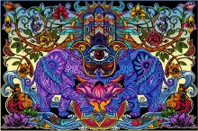 Hamsa Dreams Tapestry