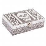 Metal Skull Box