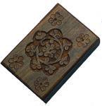 Wooden Pill Box
