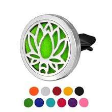 Lotus Flower Essential Oil Diffuser Car Airfreshner
