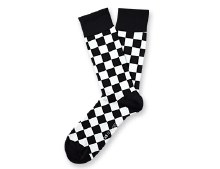 Check Mate Socks Big Feet