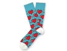 Love is in the Air Socks Big Feet