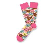 Go Nuts for Donuts Socks Big Feet