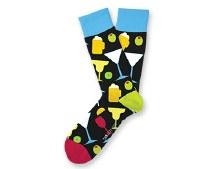 Happy Hour Socks Big Feet