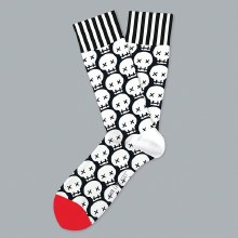 Graveyard Shift Socks Big Feet