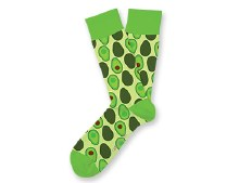 Holy Guacamole Socks Big Feet