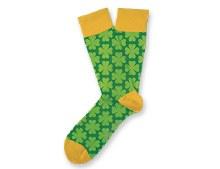 Shamrockin St. Patrick's Day Socks Small Feet