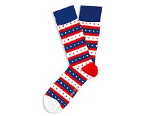 Campaign Trail USA Socks Big Feet