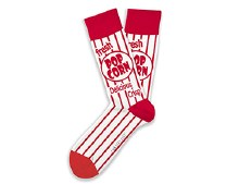 Movie Night Socks Big Feet
