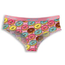 Go Nuts for Donuts Women's Everyday Hipsters in Extra Small