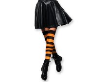 Halloween Witchful Thigh High Socks