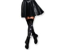 Halloween Get Caught Up Thigh High Socks