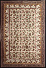 Elephant Lotus Tapestry