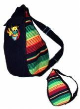 Grateful Dead Rasta Slingback Bag