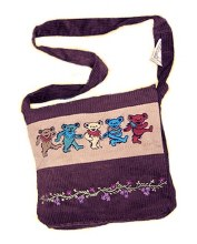 Grateful Dead Cord Bear Tote Bag