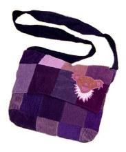 Grateful Dead Patchwork Messenger Bag