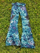 Wish Upon A Shooting Star Tie Dye Yoga Pants