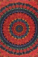 Butterfly Mandala Tapestry