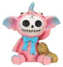 Pink Elefun Furrybones Figurine