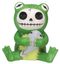 Froggie Furrybones Figurine