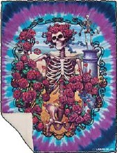 Grateful Dead  30th Annv Fleece Blanket