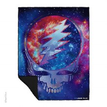 Grateful Dead Cosmic Stealie Fleece Blanket