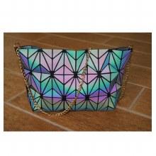 Luminous Geometric Shoulder Bag