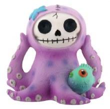 Octopee (Purple) Furrybones Figurine