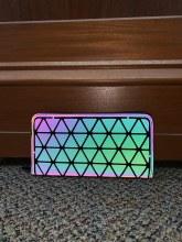 Luminous Zip Wallet