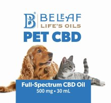 BeLeaf Life's Oils Full Spectrum CBD 500mg