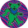 Grateful Dead 4 Bear 1.5 Round Set Button
