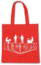 The Beatles Help! Eco Red Reusable Bag