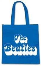 The Beatles 70's Logo Eco Blue Reusable Bag