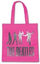 The Beatles Jump Eco Pink Reusable Bag