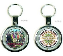 The Beatles Sgt Pepper Lonely Heart Club Band Keychain
