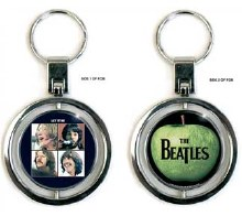 The Beatles Let it Be Apple Keychain