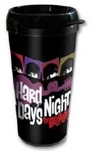 The Beatles Hard Day's Night Travel Mug