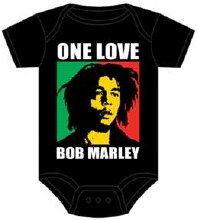 Bob Marley Kids One Love Block Onesie