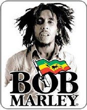 Bob Marley Sepia Sticker