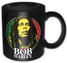 Bob Marley Face Logo Mug
