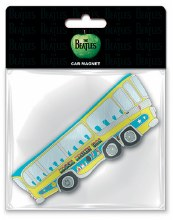 The Beatles Magical Mystery Tour Bus Magnet