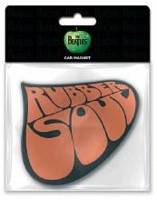 The Beatles Rubber Soul Die Cut Rubber Magnet
