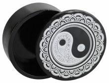 Yin Yang Polyresin Storage Box
