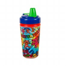 Grateful Dead Tie Dye Dancing Bear Sippy Cup