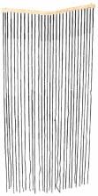 Bamboo Beaded Curtain Black
