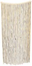 Bamboo Beaded Curtain Reddish Brown
