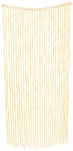Bamboo Beaded Curtain Natural