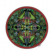 Celtic Mandala Sticker