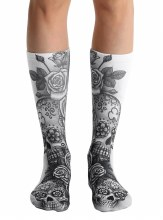 Day of the Dead Knee High Socks